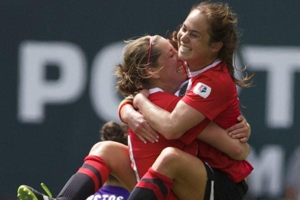 Lesbian Soccer Team 74
