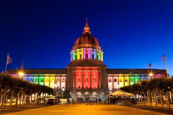 city hall pride