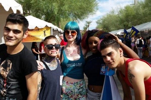 rainbows festival