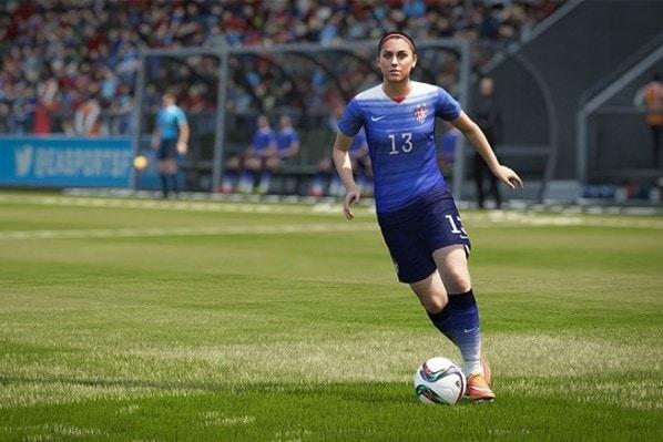 Alex Morgan EA Sports