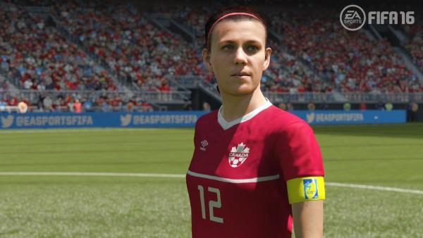 Christine Sinclair EA Sports