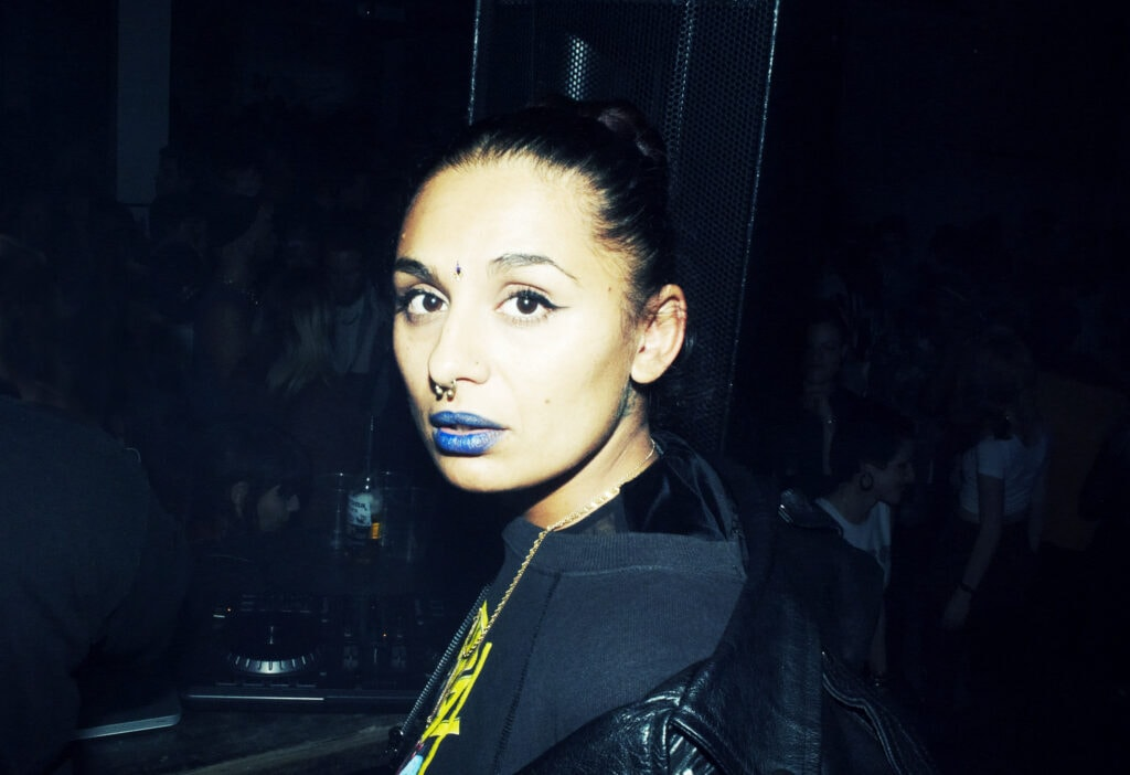 13. When septum, blue lips and bindis combined in the ultimate triad