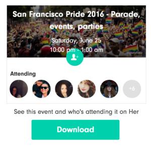 San Francisco Pride Parade 2016 Lesbian