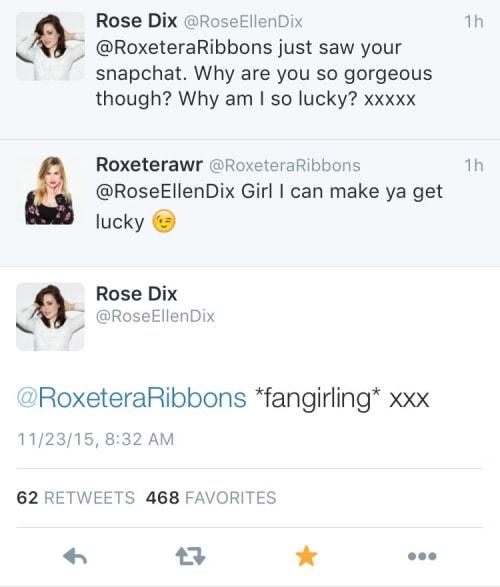 rose twitter