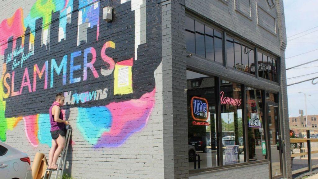 Slammers bar in Columbus