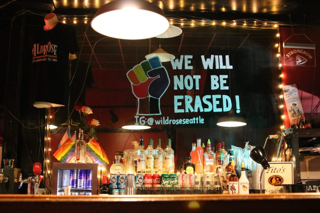 Wildrose bar in Seatle