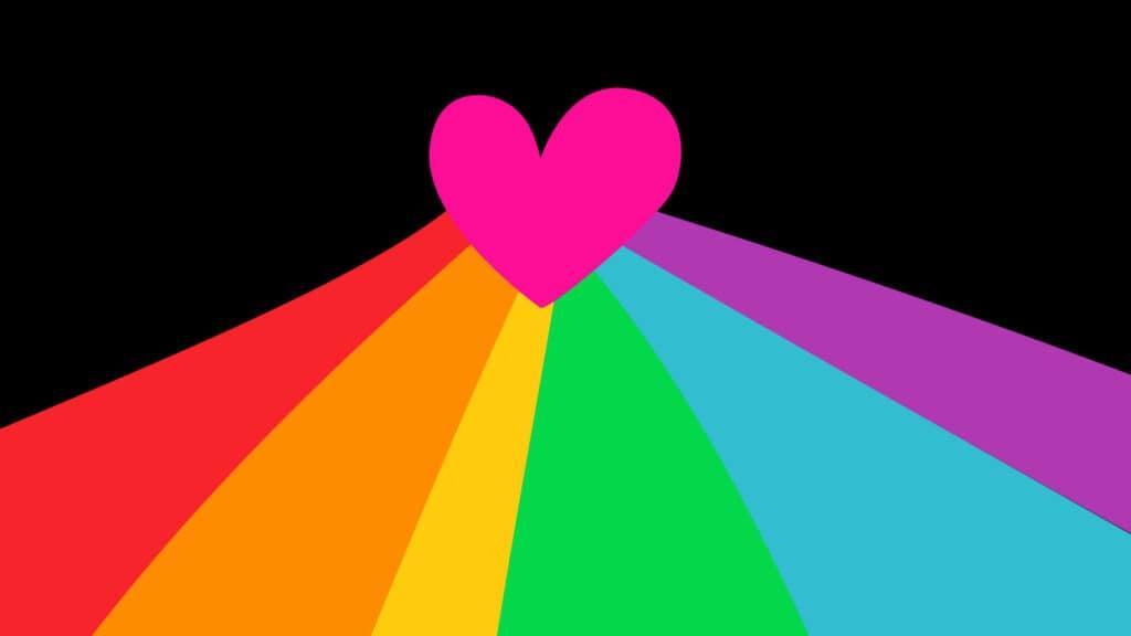 LGBTQ Heart for Pride